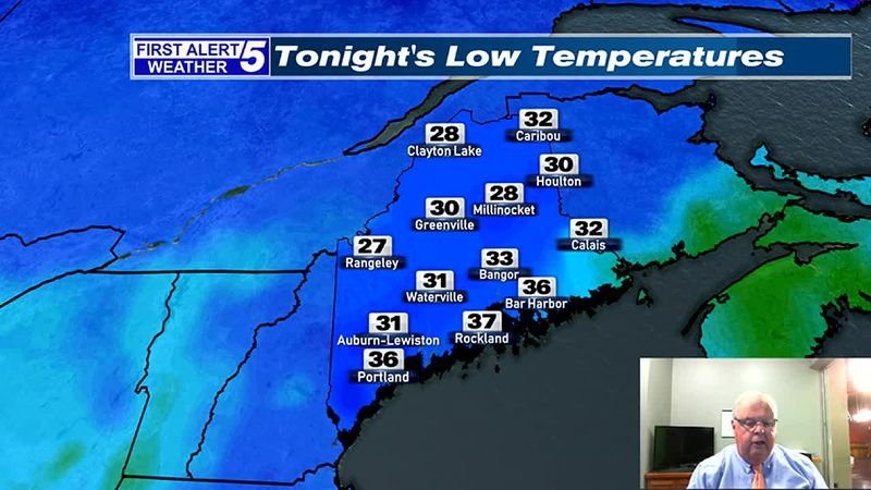 Variably Cloudy & Milder than Normal Tonight & Saturday