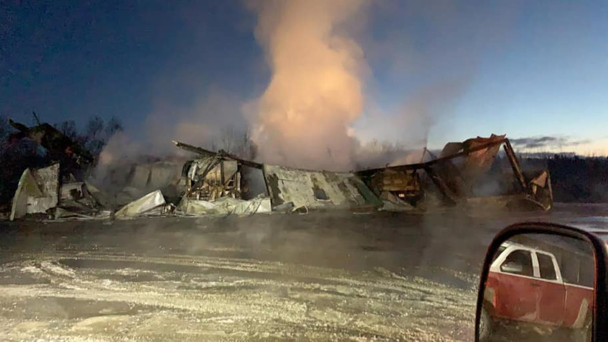 The Fort Fairfield Fire & Rescue Department responded to a fully involved structure fire at the...