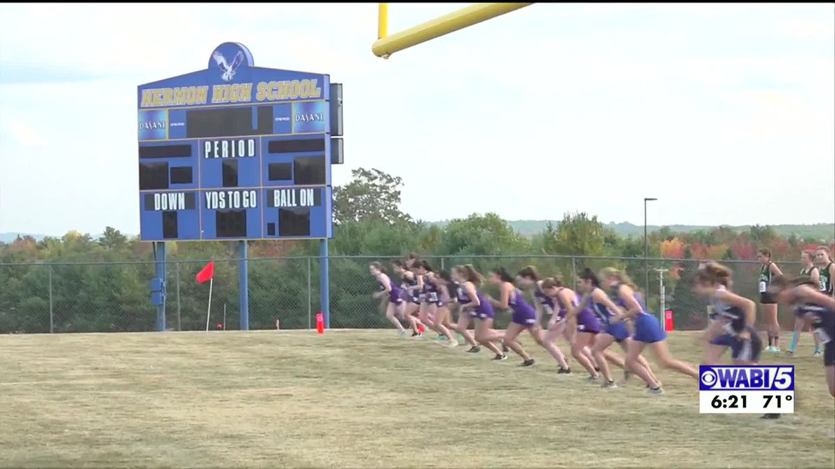 Hermon hosts cross country meet following guidelines, Orono runners shine