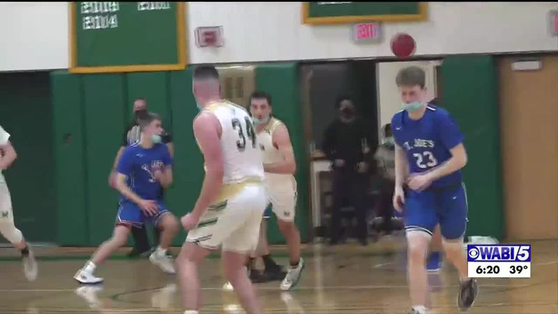 Husson men's hoops cap perfect season, hope to carry over to next year