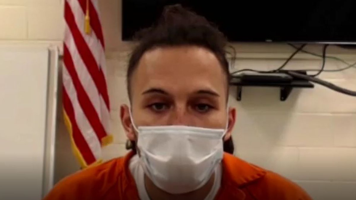 Brian Corvino, 33, made his first court appearance via Zoom Wednesday.