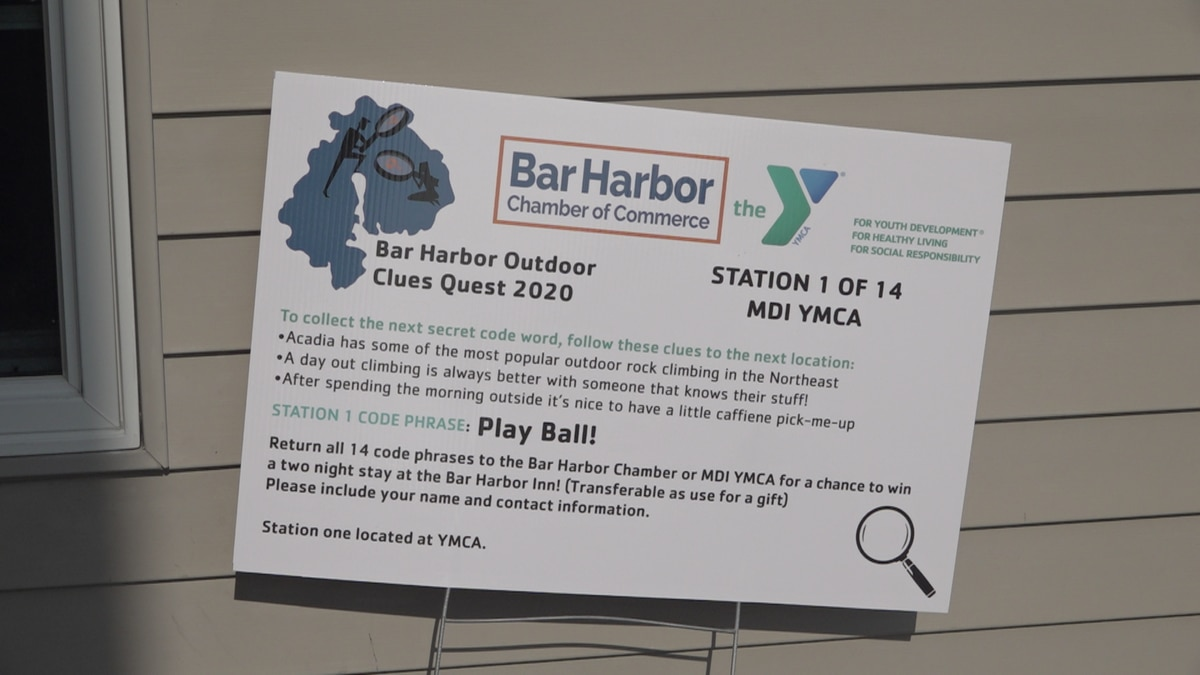 The first hint that kicked off the hunt, located at the YMCA.