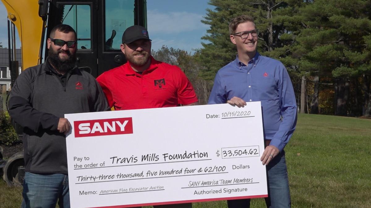 SANY America donates $33,000 to the Travis Mills Foundation