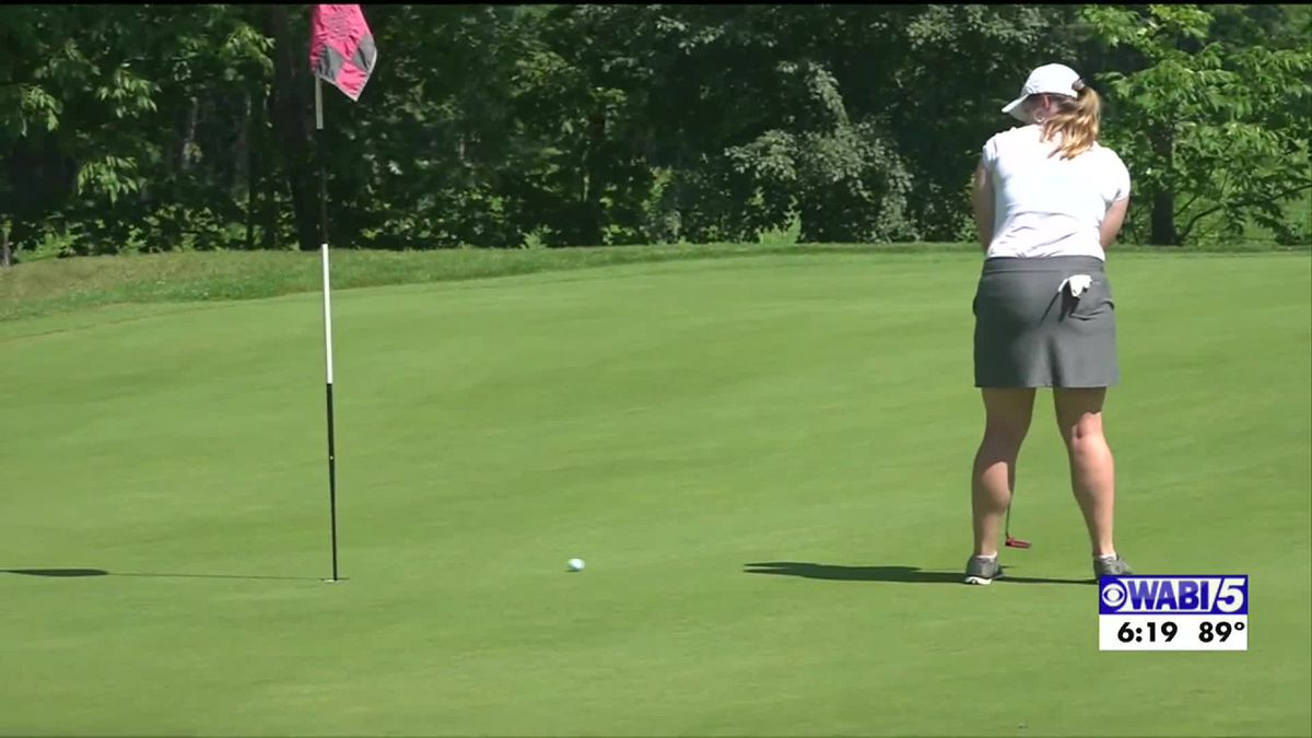 Plourde grabs the lead after the first round at Maine Women's Amateur