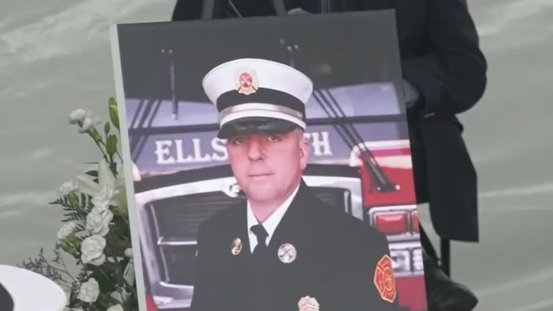 Ellsworth Deputy Fire Chief Bobby Dorr passed away in May