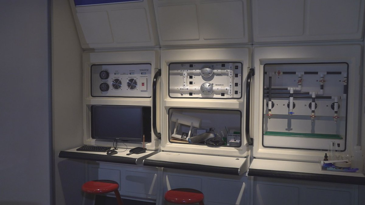 The Challenger Learning Center in Bangor hosted a week long Astronaut Academy.
