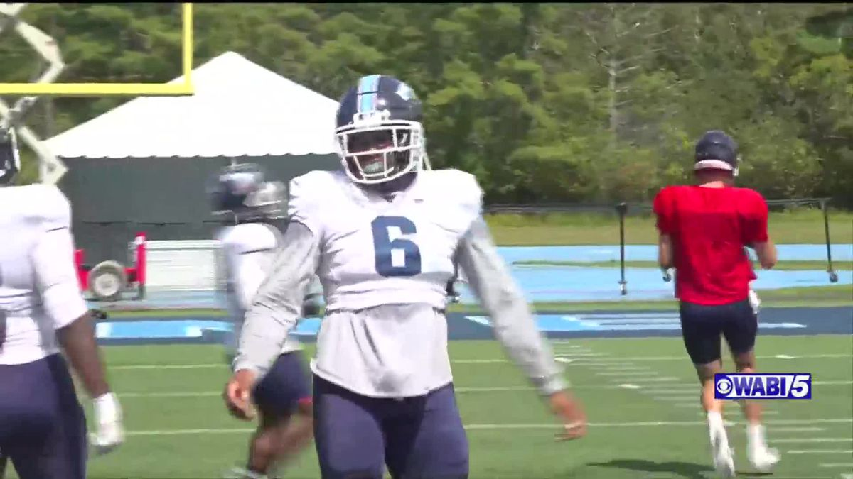 UMaine football players recognized