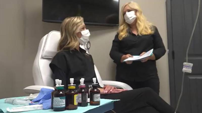 Joanna Liberatore, owner of Riverlight Restorative Health in Brewer is helping folks tackle a...