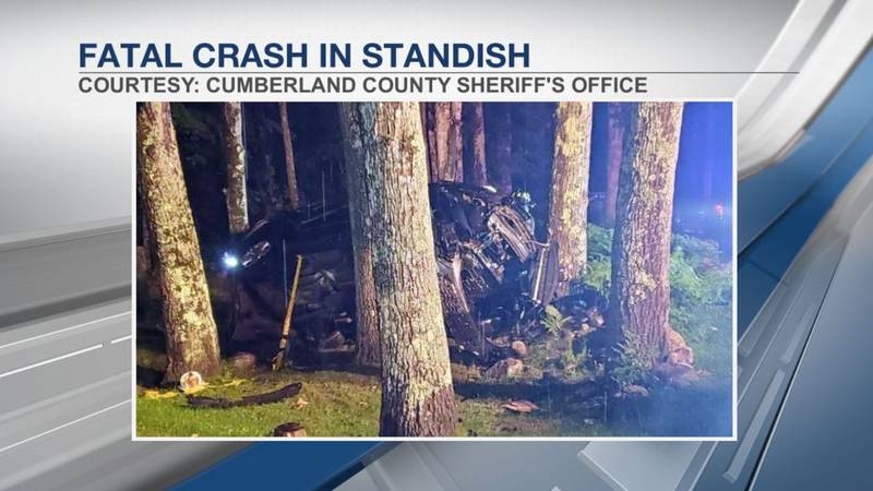 Police say Colter took a turn too fast, went off the road and crashed into multiple trees.