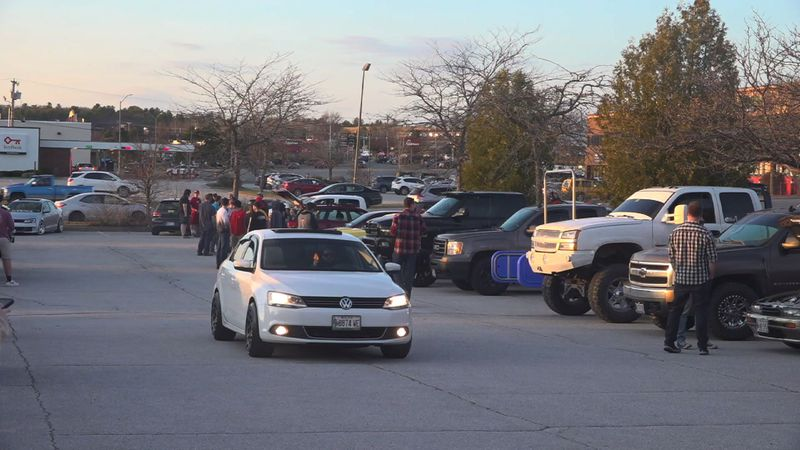 Bangor Car Meets wanted to spend their first meet of the season giving back to the community.