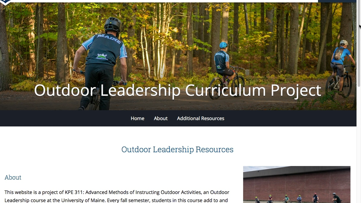 For Lauren Jacobs, a lecturer in the Outdoor Leadership program, having her class build an...