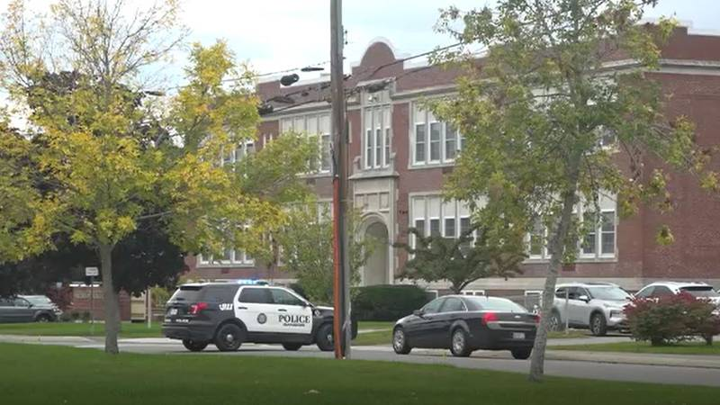 Students and staff at Fairmount School in Bangor were evacuated Friday afternoon after school...