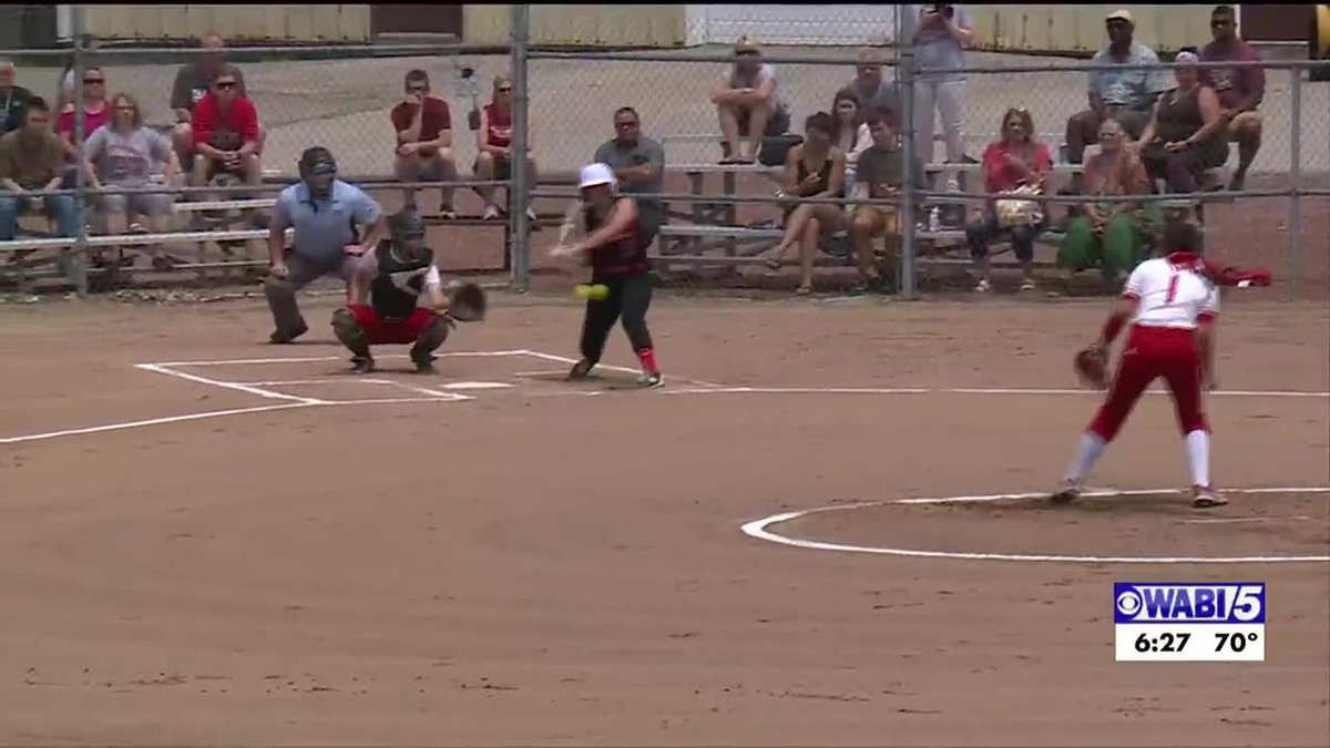 Hall-Dale blanks Dexter for the class. C softball state title