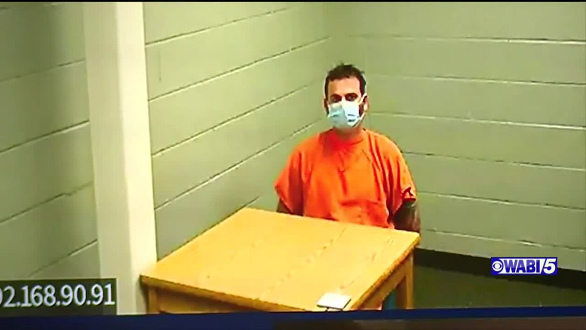The man accused of putting razor blades inside grocery store pizza dough is ordered held on 20 thousand dollars bail.