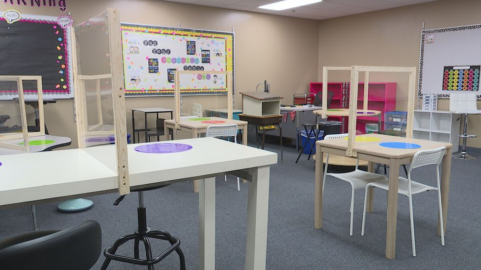 Teachers at schools like John Harris Elementary in Sioux Falls are already working on arranging their classrooms in a way that focuses on social distancing.