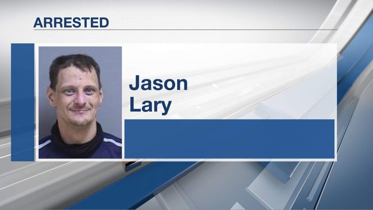 Jason Lary, age 40, of St. Albans is at the Somerset County Jail.