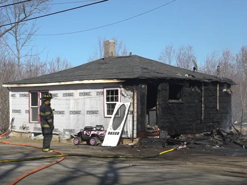 Crews were called to a structure fire just before 2:30 pm.