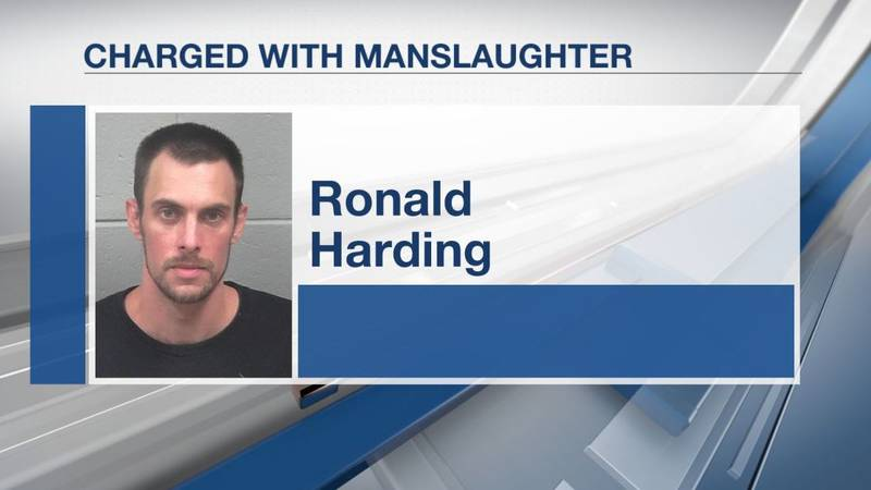 Police say 36-year-old Ronald Harding called 911 Monday to report that his son was unresponsive...