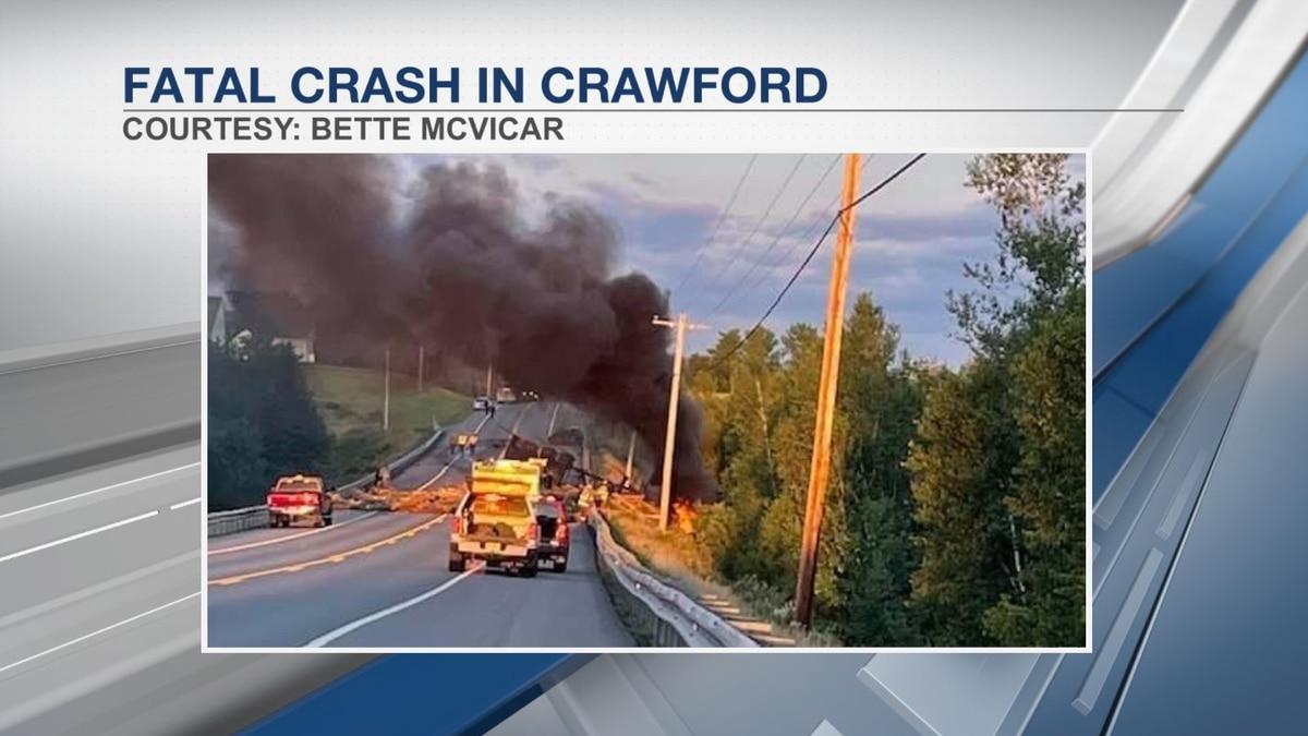 Fatal crash in Crawford