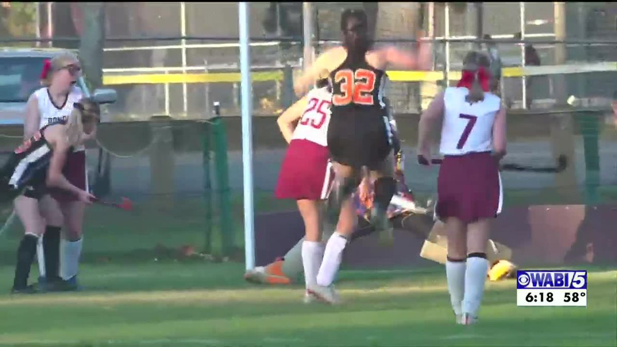 Brewer field hockey wins rivalry game over Bangor in OT