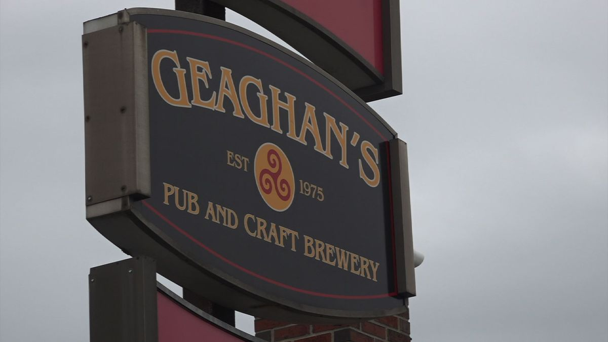 Geaghan's will close for St. Patrick's Day for the second year.