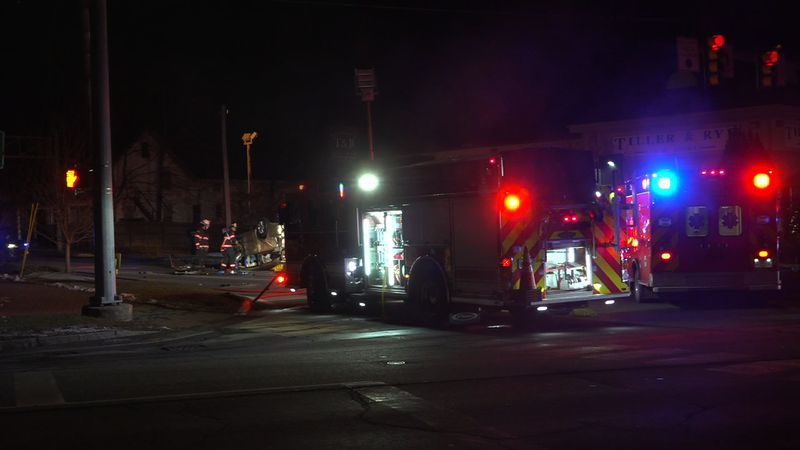Police respond to Wilson Street in Brewer for serious crash.