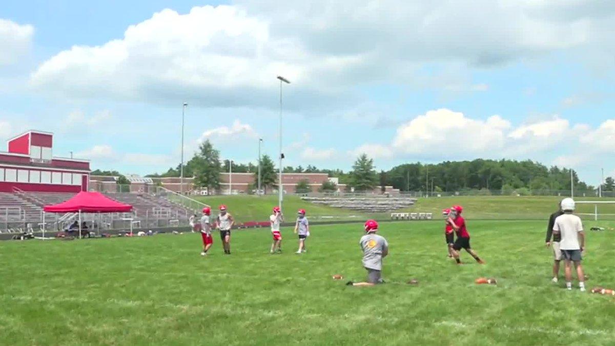 Maine Elite Passing Camp preparing football players hopeful for a season