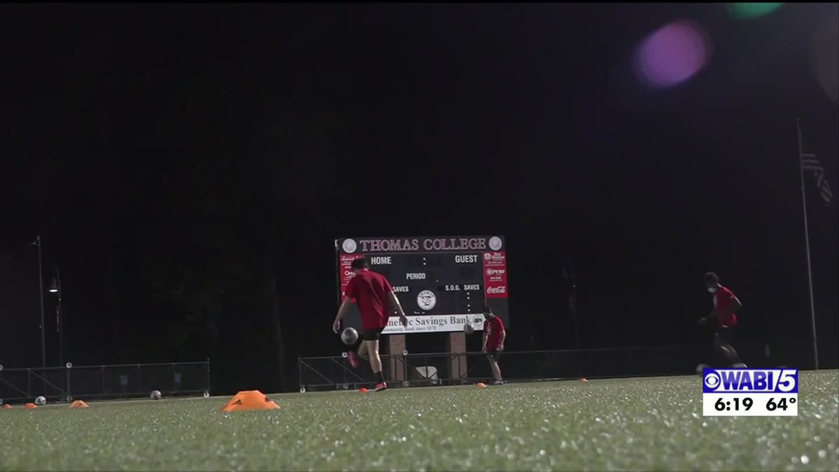 Thomas College using caution at practice, preparing for fall games
