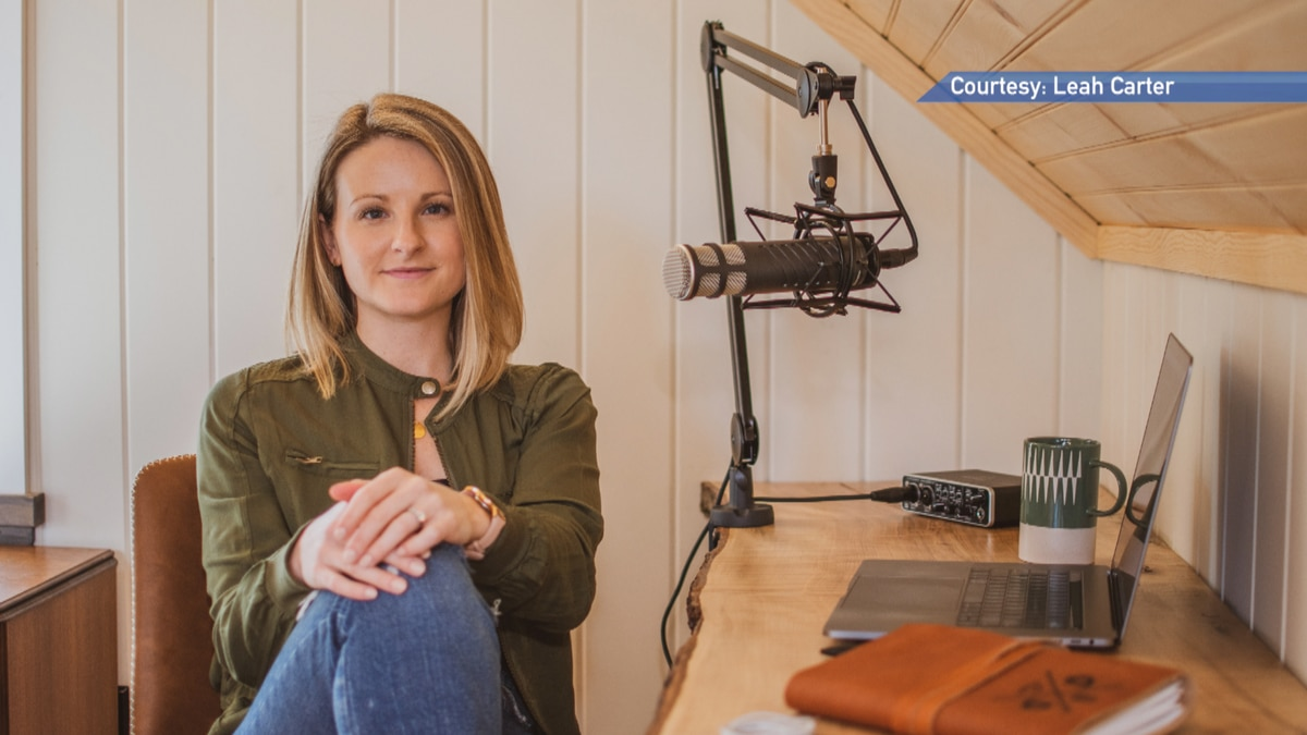"""Podcaster Kylie Low of """"Dark Downeast"""""""