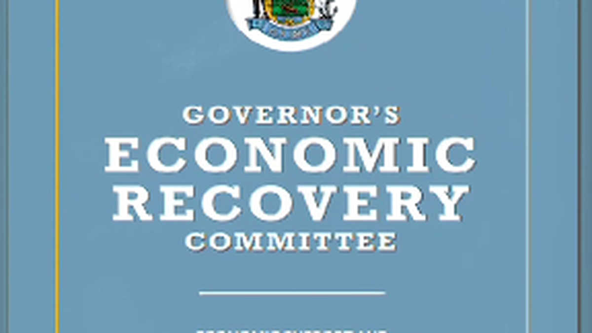 Economic Recovery Committee recommendations now with Gov. Mills