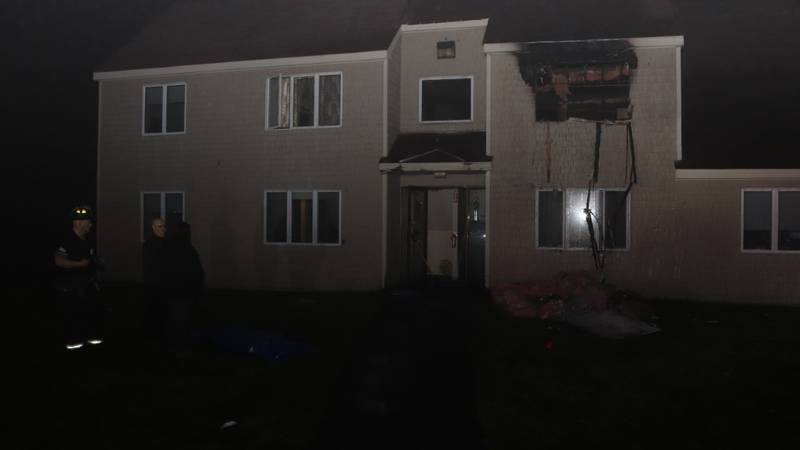 67-year-old Joan Jackson first reported the fire to authorities at the Jay Elderly Apartments...