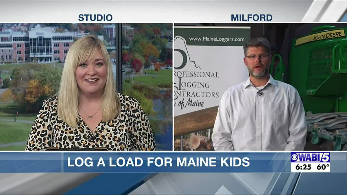Professional Logging Contractors hold Log-A-Load for Maine Kids Auction